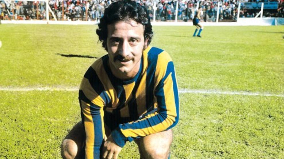 Poy disputó 313 partidos con Rosario Central y marcó 67 goles