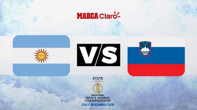 Argentina vs Eslovenia, hora y dónde ver el Mundial de Vóley