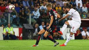 Higuaín marcó el empate para el Milan.