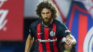 Coloccini es defensor y, además, el capitán de San Lorenzo.