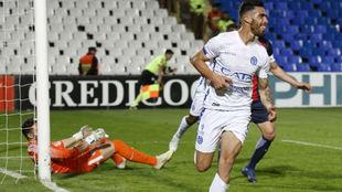 Gabriel Ávalos le dio el triunfo a Godoy Cruz ante San Lorenzo