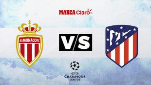 Mónaco y Atlético de Madrid jugarán la primera fecha del Grupo A.
