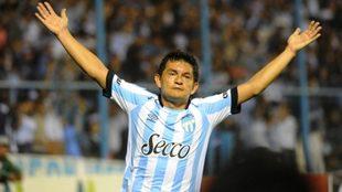 El Pulga Rodríguez, el ídolo de Atlético Tucumán