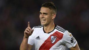 Rafael Santos Borré tuvo buenas actuaciones en River en los últimos...