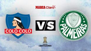 Colo Colo vs Palmeiras, formaciones, hora y dónde ver en TV