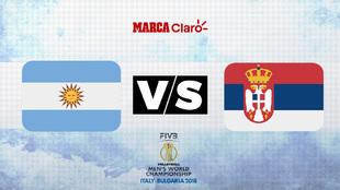 Argentina buscará derrotar a Serbia el sábado