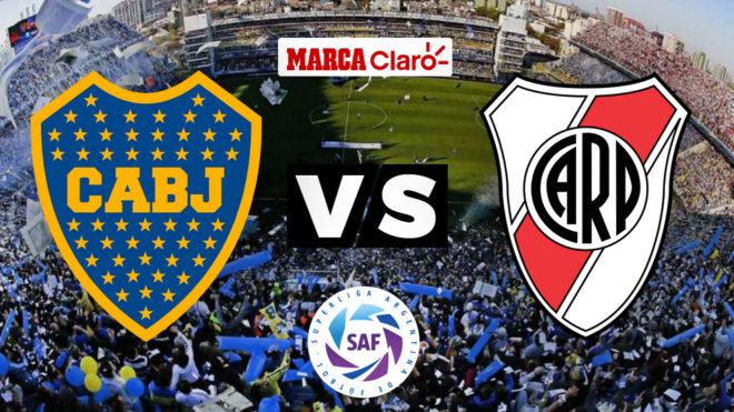6014ff345 Fútbol: Boca vs River 2018: Resumen, resultado y goles del SuperClásico  Argentino   MARCA Claro Argentina