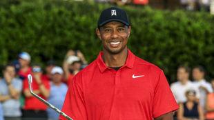 Tiger se coronó en el Tour Championship
