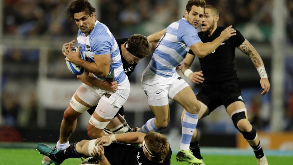 Cooperación Apelar a ser atractivo receta  Rugby Championship online: Los Pumas vs All Blacks 2018 en vivo | MARCA  Claro Argentina