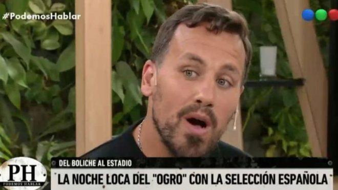Cristian Fabbiani estuvo en el programa Podemos Hablar, en Telefé