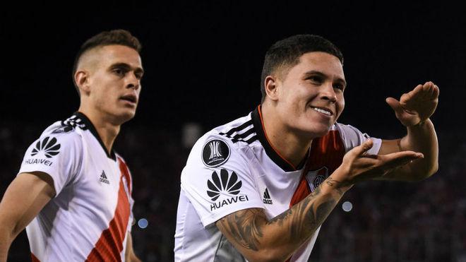 Quintero, autor del segundo gol. El colombiano cambió el partido.