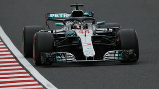 Lewis Hamilton saldrá primero en Japón