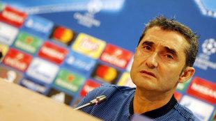 Ernesto Valverde habla a los medios