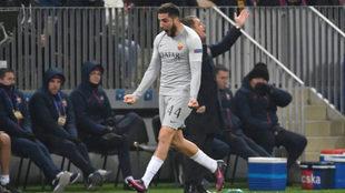 La Roma gana en el Luzhniki y pone presión al Real Madrid