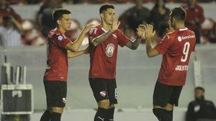 Independiente festeja el triunfo