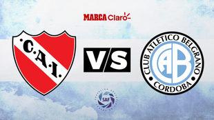 Independiente vs Belgrano: Formaciones, hora y dónde ver