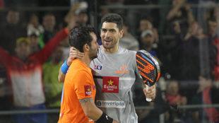'Sanyo' Gutiérrez y Maximiliano Sánchez, campeones del...
