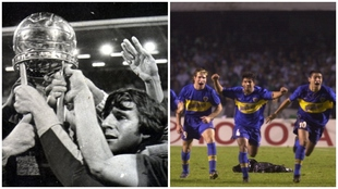 Boca campeón Intercontinental 1977 y Libertadores 2000