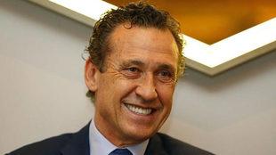 Jorge Valdano, en una entrevista para MARCA.