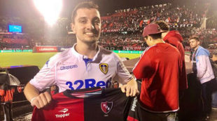 El hincha del Leeds que fue a ver a Newell's por Marcelo Bielsa