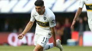 Espinoza le dio el triunfo a Boca a diez minutos del final