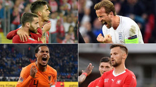 Se definieron los finalistas de la Nations League