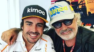 Fernando Alonso y Flavio Briatore.