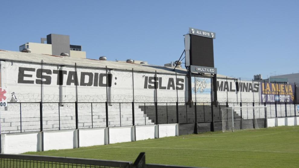 El estadio Malvinas Argentinas quedará suspendido por tiempo...
