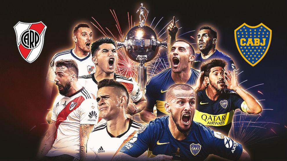 River vs Boca, el partido del año, por la Copa Libertadores.