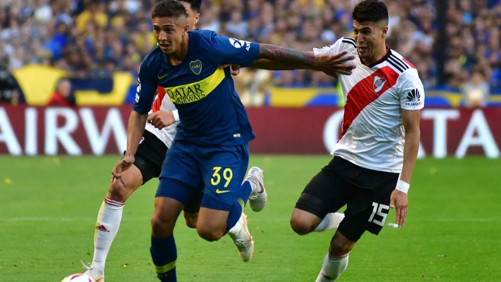 Agustín Almendra será titular frente a River