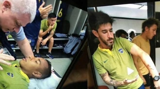 Villa y Pérez, algunos de los afectados por los vidrios rotos y el...