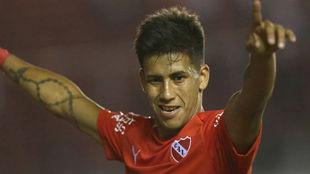 Maxi Meza, la figura de Independiente.