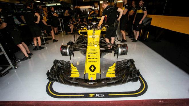 Renault estrena nombre y logo en la Fórmula 1