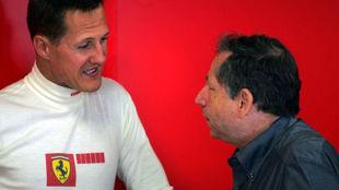 Jean Todt asegura haber visto una carrera con Schumacher