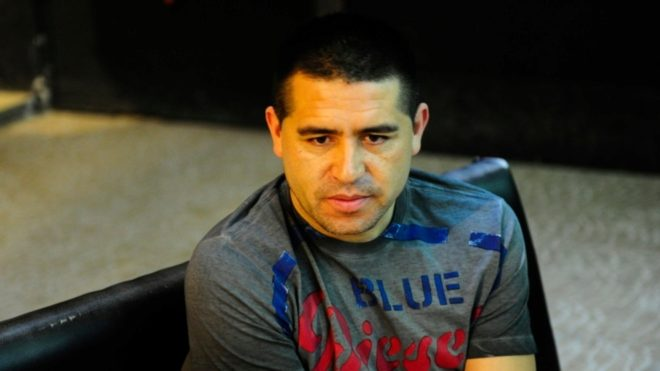 Juan Román Riquelme, referente histórico de Boca.