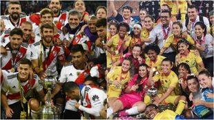 Contrastes entre la Libertadores masculina y femenina