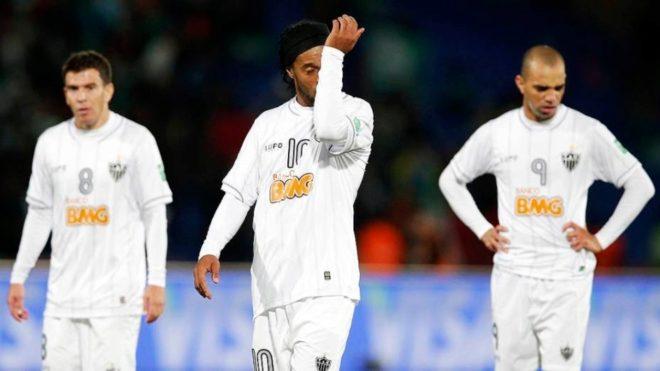 Ronaldinho y el Atlético Mineiro, eliminados en semifinales del...
