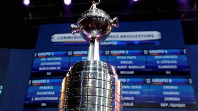 Copa Libertadores 2019  Hoy se hará el sorteo por las fases de grupos