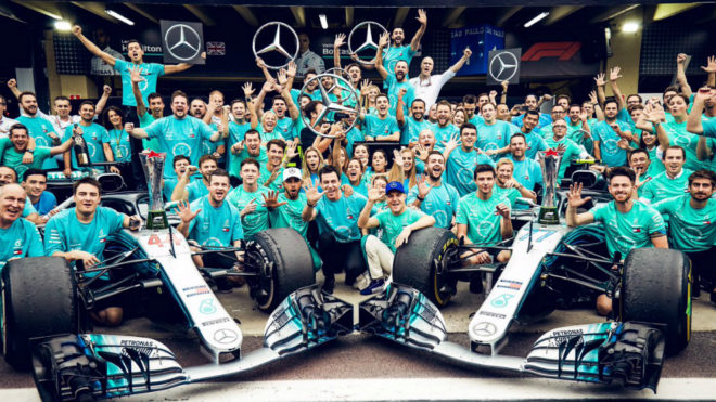 El método de Mercedes para conservar su dominio en la Fórmula 1