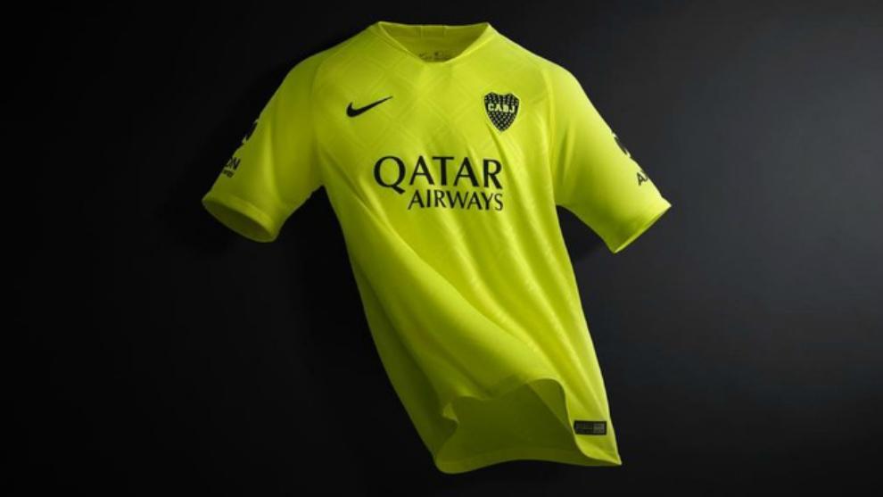 1137a147 Superliga Argentina: La tercera camiseta de Boca será como la del ...