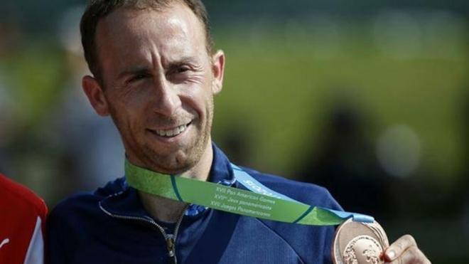 Mariano Mastromarino ganó medalla de bronce en Toronto 2015.