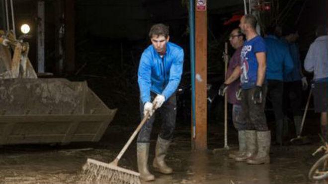 Rafa Nadal dona un millón de euros a los afectados por las inundaciones de  Sant Llorenç | MARCA Claro Argentina