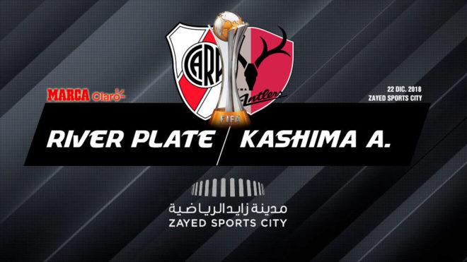 River vs Kashima Antlers, en vivo