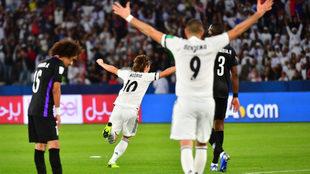 Golazo de Modric en el Mundial de Clubes