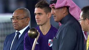 Rafael Santos Borré se quedó con el balón de bronce