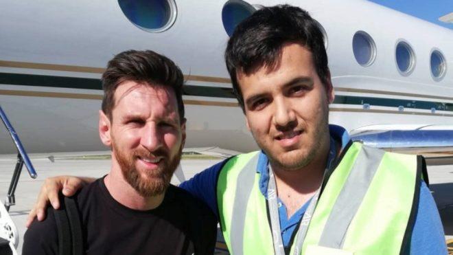 Lionel Messi llega a Argentina para pasar las fiestas