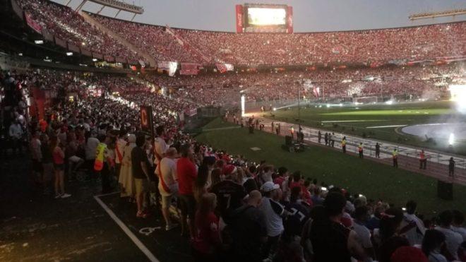 ¡El Monumental de fiesta!| Los festejos del campeón de América