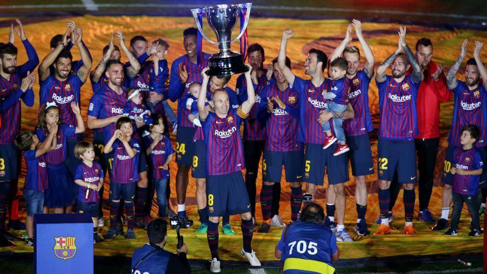 Con el Barcelona logró tres títulos en este año