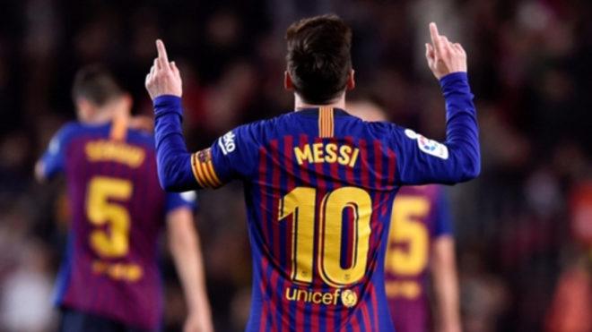 Leo Messi, amo y señor del Barcelona, cerró un buen 2018