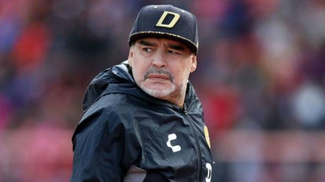 Incertidumbre sobre el paradero de Maradona